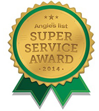 Angies List 2014 Award