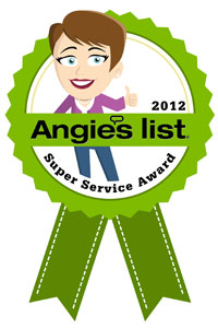 Angies List 2012 Award